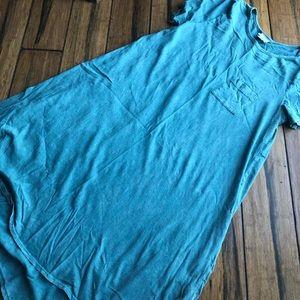 Mineral wash sea foam green Carly dress